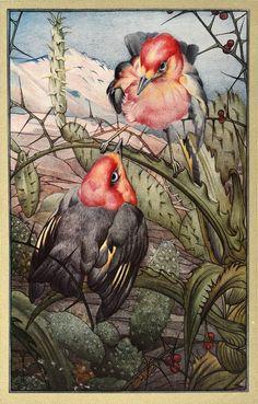 Hours of Gladness illustration by Edward Julius Detmold