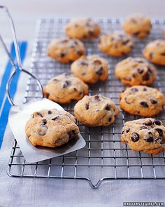 I want to try these with dried cherries or dates instead of chocolate chips!  I really do not like chocolate chips inside things at all... Soft Chocolate Chip Cookies