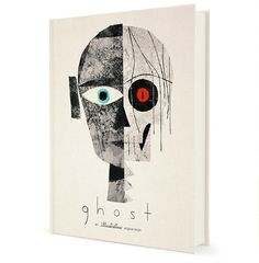 GHOST is an original book by Illustratus, a collection of 13 original poems and tales written by Blaise Hemingway and Jesse Reffsin and illustrated by Chris Sasaki and Jeff Turley. Modern Graphic Design, Graphic Design Typography, Graphic Design Inspiration, Space Drawings, Buch Design, Best Book Covers, Book And Magazine, Book Cover Design, Graphic Illustration