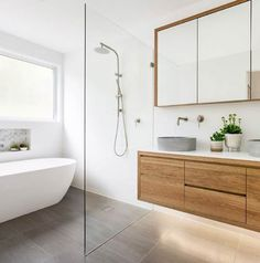 bathroom ideas / bathroom tiles / bathroom decor / bathroom design / Concrete Nation / Concrete bathrooms / Concrete interiors / Industrial / Raw Natural Material / Interior Design / Interior Decorating / Interiors / Aesthetic / Gold Coast / Design / bathroom / Aesthetic / Architecturally Designed / Home Décor / Renovation / @concretenation Concrete Basin, Concrete Bathroom, Bradley House, Concrete Interiors, Floating Vanity, Curved Lines, Modern Coastal, Bathroom Fixtures, Bathrooms