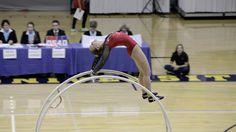 World Championships in Gymwheel 2016   Cheyenne Rechsteiner straight lin...