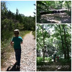Fun things for families to do at Platte River State Park, located between Lincoln and Omaha, Nebraska.