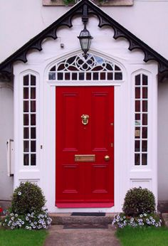 Dare To Paint Your Front Door A Bright, Pretty Color!