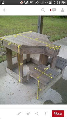 Shooting Bench - Tap The Link Now To Find Gadgets for Survival and Outdoor Camping #woodworkingbench