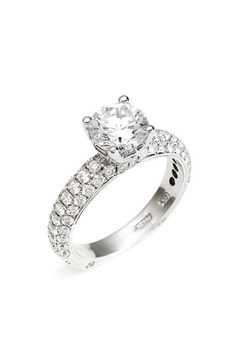 'Romance' Pavé Diamond Engagement Ring Setting