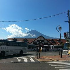 There it is! #MtFuji #japan #lucky