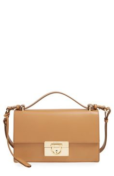 Salvatore Ferragamo 'Aileen' Leather Crossbody Bag available at #Nordstrom