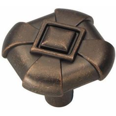 $2.40 Chelsea 1-1/8 in. Dark Antique Copper Knob