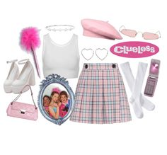 Clueless Outfit - Source by franziivanrieen - Cher Clueless, Clueless Outfits, Clueless Fashion, 2000s Fashion, Clueless Aesthetic, Aesthetic Fashion, Aesthetic Clothes, Friend Outfits, Girl Outfits