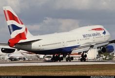 G-CIVA British Airways Boeing 747-400