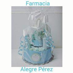 WEBSTA @ farmaciaalegreperez - Una tarta de pañales para un bebé 👶 nene que…