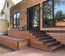 Front Steps, Railings and Newel Posts Front Porch Stairs, Porch Columns, Porch Steps, Deck Stairs, Front Steps, Craftsman Style Porch, Craftsman Interior, Porch Railing Designs, Front Porch Design