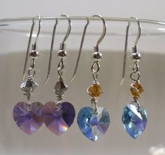 On Sale Was 2750 Now 1500  Two Pairs of Earrings  by SLCDesignsUK, $15.00
