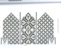Selbuvotter - Biography of a Knitting Tradition (book) - Monika Romanoff - Picasa Web Albums Knitted Mittens Pattern, Intarsia Knitting, Knitting Charts, Knit Mittens, Knitting Socks, Knitting Patterns, Scandinavian Pattern, Fair Isle Pattern, Knit Crochet