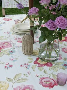 Tablecloth from Dotty Brown