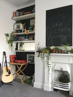 Ladder Decor, Bookcase, Shelves, Home Decor, Shelving, Homemade Home Decor, Book Shelves, Shelf, Open Shelving