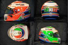 #F1 Sergio Perez's Austin GP helmet.