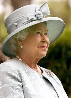 The Queen, via Flickr. I always aim to be poised like a queen.