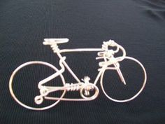 Handmade Road Bike - Metal Wire Wall Bicycle Sculpture Decorations Art as Specialized Unique Cycling Gifts Ornaments Charms