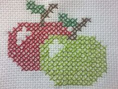 This Pin was discovered by Özc Cross Stitch Fruit, Cross Stitch Kitchen, Cross Stitch Heart, Cross Stitch Cards, Cross Stitch Borders, Cross Stitch Kits, Cross Stitch Designs, Cross Stitching, Cross Stitch Patterns