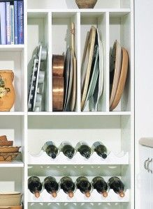 California Closets Pantry Vertical Shelves