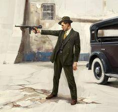 ArtStation - Personal Work: Gangster, Steve Jung