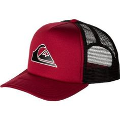 Quiksilver Good Times Trucker Hat - Men's Comp Red, One Size