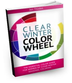 """""""How to Wear Your Clear Winter Colors... So That You Look and Feel Beautiful Everyday"""" Watch the video below to learn *exactly* how to use your clear winter color wheel and style guide to create unique and amazing outfits... while shopping or staring blankly at your closet... click through to learn more."""