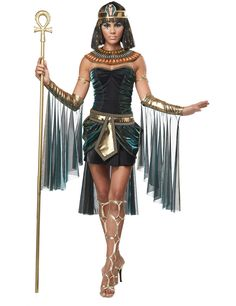 Sexy Cleopatra Damenkostüm Antike schwarz-gold , günstige Faschings Kostüme bei Karneval Megastore, der größte Karneval und Faschings Kostüm- und Partyartikel Online Shop Europas!