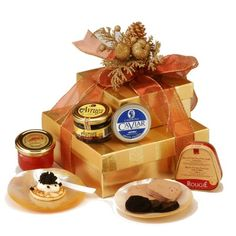 premium quality freshly packed corporate gift World Caviar Gift Basket