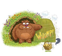 Winter is over! Spring has sprung! Good Morning Grizzle Grump is out on the book shelves today! @harperchildrens #illustration #spring #bears #childrensbooks #kidsbooks