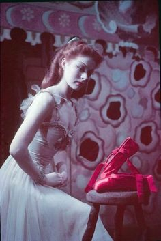 suicideblonde:Moira Shearer in The Red Shoes    This movie mesmerized me as a little girl.