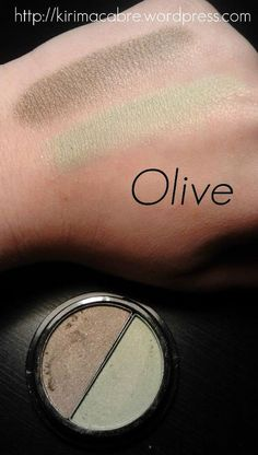 elf Duo eyeshadow:Olive