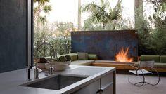 Room Study: Outdoor/Indoor Kitchens - Outdoor Kitchens, Kitchen, Outdoor Rooms, Dining Room - Custom Home Magazine