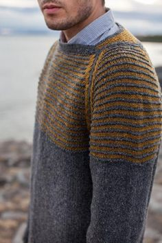menswear: Drangey by Stephen West on the LoveKnitting blog