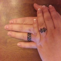 Wedding Ring Tattoos wedding band tattoo before or after getting married - Various wedding band tattoos are there in the market like name initials tattoo, simple symbolic tattoo, matching band tattoos, heart band tattoos, ball
