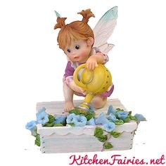 Flower Box Shelf Sitter - From Series Twenty Four of the My Little Kitchen Fairies collection