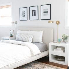 A perfect bedroom decoration for women is not only present the personality from her but also the style and taste. Women often express them in a unique way and bedroom is space for them to do. Grey And White Bedding, Neutral Bedding, Target Home Decor, Home Decor Items, Master Suite, Master Bedroom, Light Gray Bedroom, Cool Beds, Zara Home