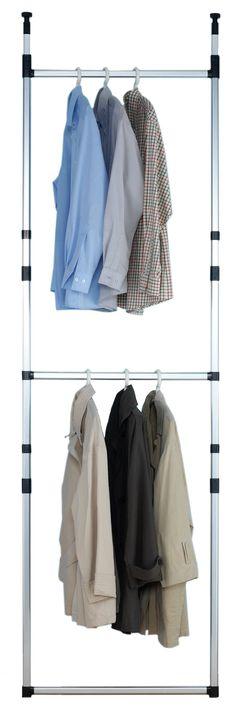 Ruco Basic V145 Telescopic Wardrobe Unit: Amazon.co.uk: Kitchen & Home