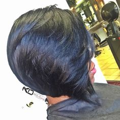 TGIF!!! #kohairartistry #haircolor #hairartistry #haircut #thecutlife #hair #hairstyle #razorcut #razorsharp #cuttingclass #bob #boblife #voiceofhair #quickweave #extensions #remyhair