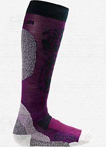 Women's Merino Phase Sock - purple passion