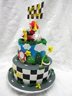 mario kart cake 1000 images about mario brothers cakes on 5715