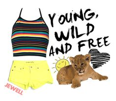 """""""Young, Wild and Free"""" by laylajewell ❤ liked on Polyvore featuring Big Star"""