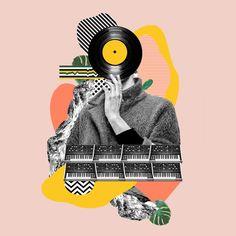 Fashion meets music on Behance
