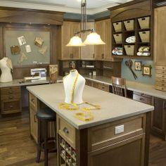 Lisa Geisler Design Traditional Home Office/craft Room.