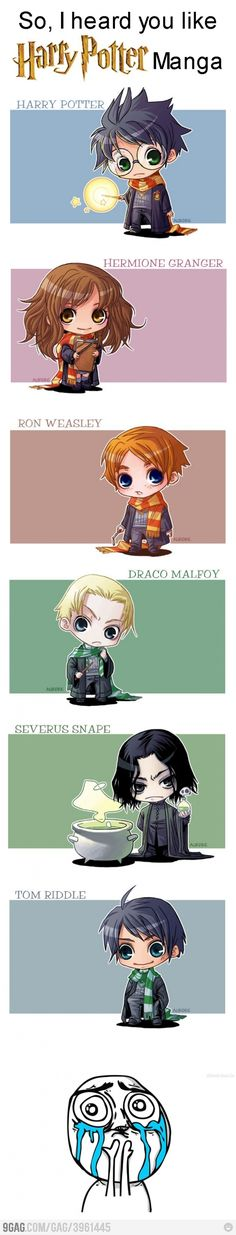 Harry Potter - Personnages / Manga