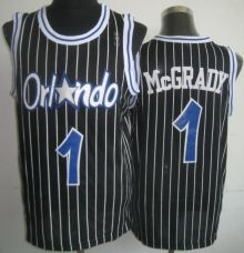 a6fc1851c Orlando Magic 1 Tracy Mcgrady Black Revolution 30 NBA Jerseys Wholesale  Cheap