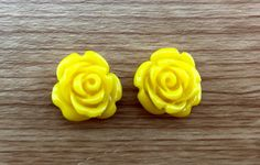 A personal favourite from my Etsy shop https://www.etsy.com/au/listing/246884484/rose-carved-flower-earrings-yellow-agate