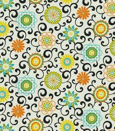 Waverly Modern Essentials Fabric-Pom Pon Play / Confetti: home decor print fabric: home decor fabric: fabric: Shop   Joann.com    fabric for kitchen cabinets