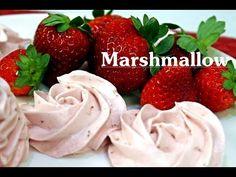 Marshmallow de Morangos Receita Inédita - YouTube